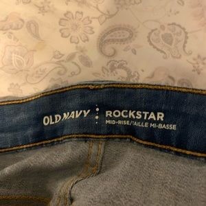 Old Navy Jeans - Old Navy Rockstar Jeans in a size 8